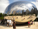 Click here to view 'Mirror sculpture, Chicago'