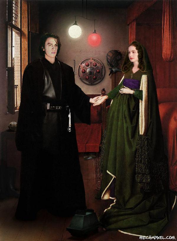 Arnolfini essay giovanni his portrait wife