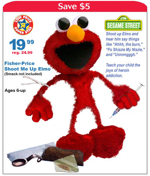 Click to view Shoot Me Up Elmo